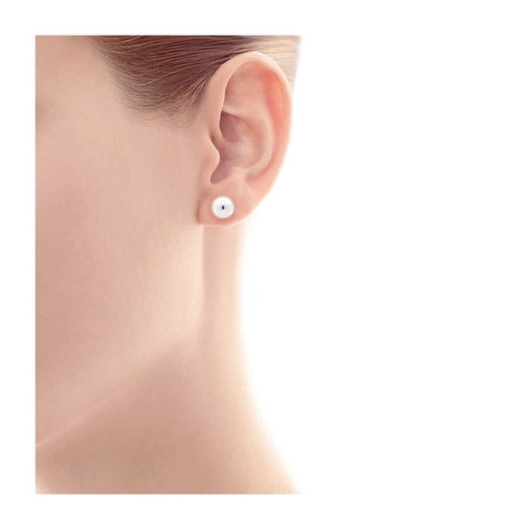 72895d0c2 Tiffany & Co. Jewelry | Tiffany Co Silver Bead Earrings | Poshmark